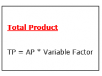Total Product