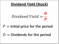 Dividend Yield (Stock)