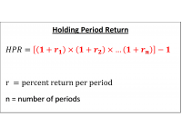 Holding Period Return