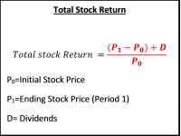 Total Stock Return
