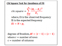 Goodness of Fit Test (Chi Square)