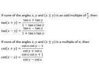 Trigonometric Functions - 3