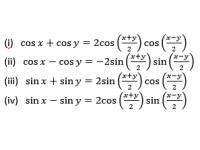 Trigonometric Functions - 6