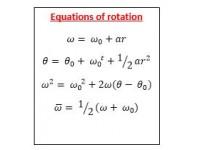 Equations of Rotation