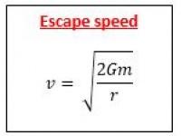 Escape Speed