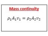 Mass continuity
