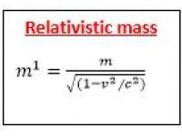 Relativistic mass