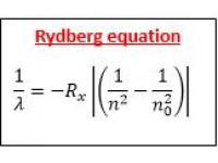 Rydberg equation