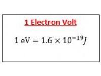 1 Electron volt
