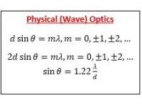 Physical (wave) optics