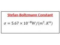 Stefan-Boltzmann Constant