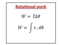 Rotational Work
