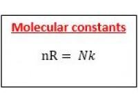 Molecular constants