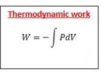 Thermodynamic Work