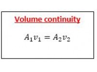 Volume continuity