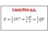 Capacitive p.e.