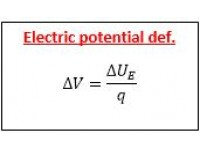 Electric potential def.