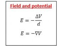 Field and Potential
