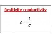 Resitivity-conductivity