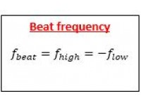 Beat frequency