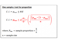 Z test for proportions (Confidence Interval)